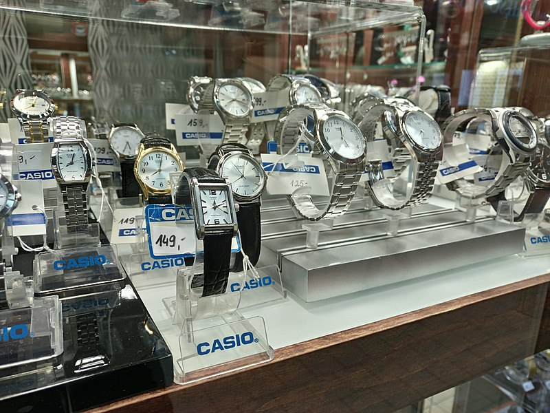 Get The Casio Watches Online With Amazing Designs!